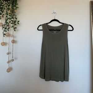 Olive Aerie Soft & Sexy Tank